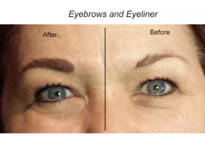 Permanent Eyeliner and Eyebrows